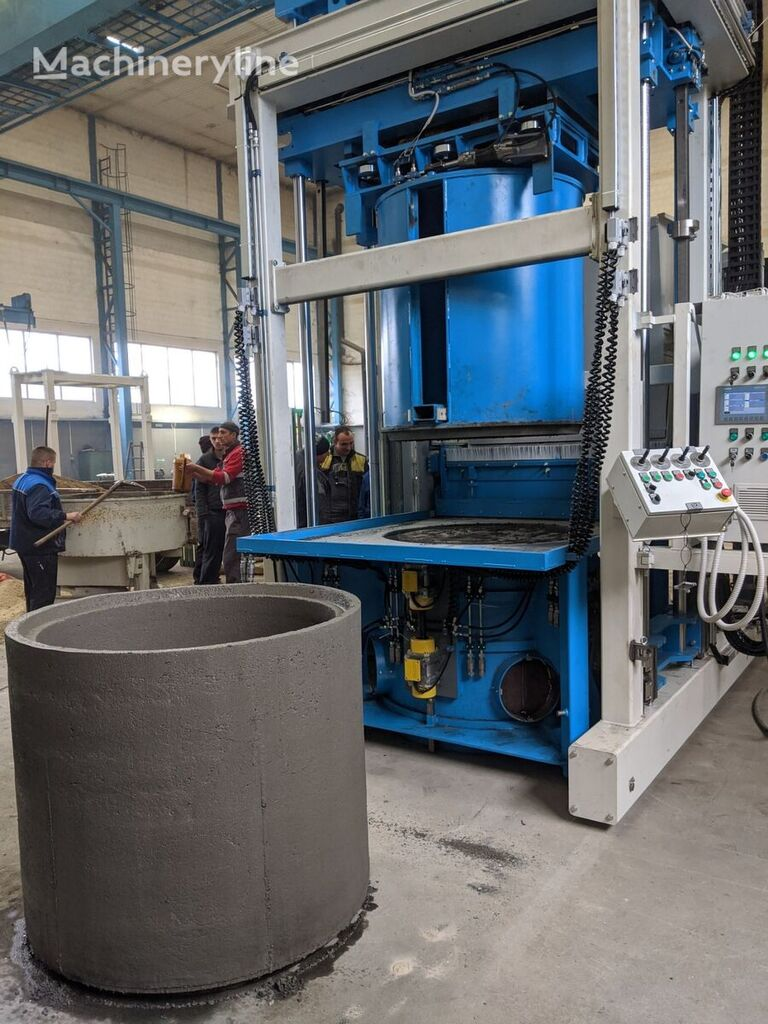 ny SUMAB NEW! E-12L Concrete Ring + Pipe Making Machine betongblock maskin