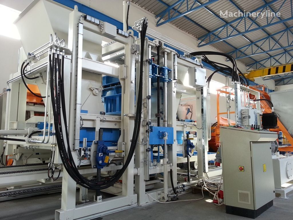 ny SUMAB R-400 (800blocks/hour) Mobile Machine betongblock maskin