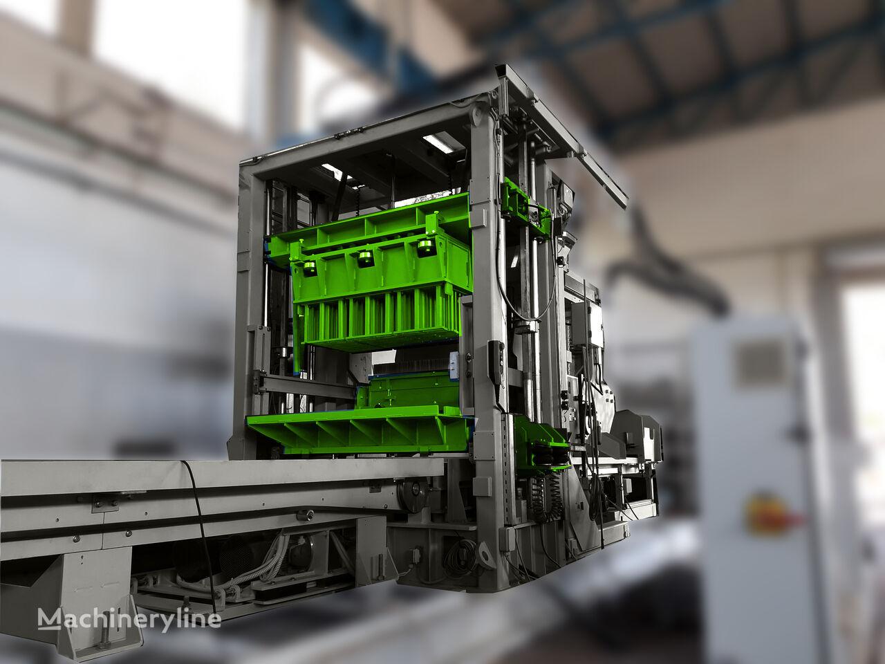 ny SUMAB SWEDEN R-400 (800 blocks/hour) ADVANCED BLOCK Machine  betongblock maskin