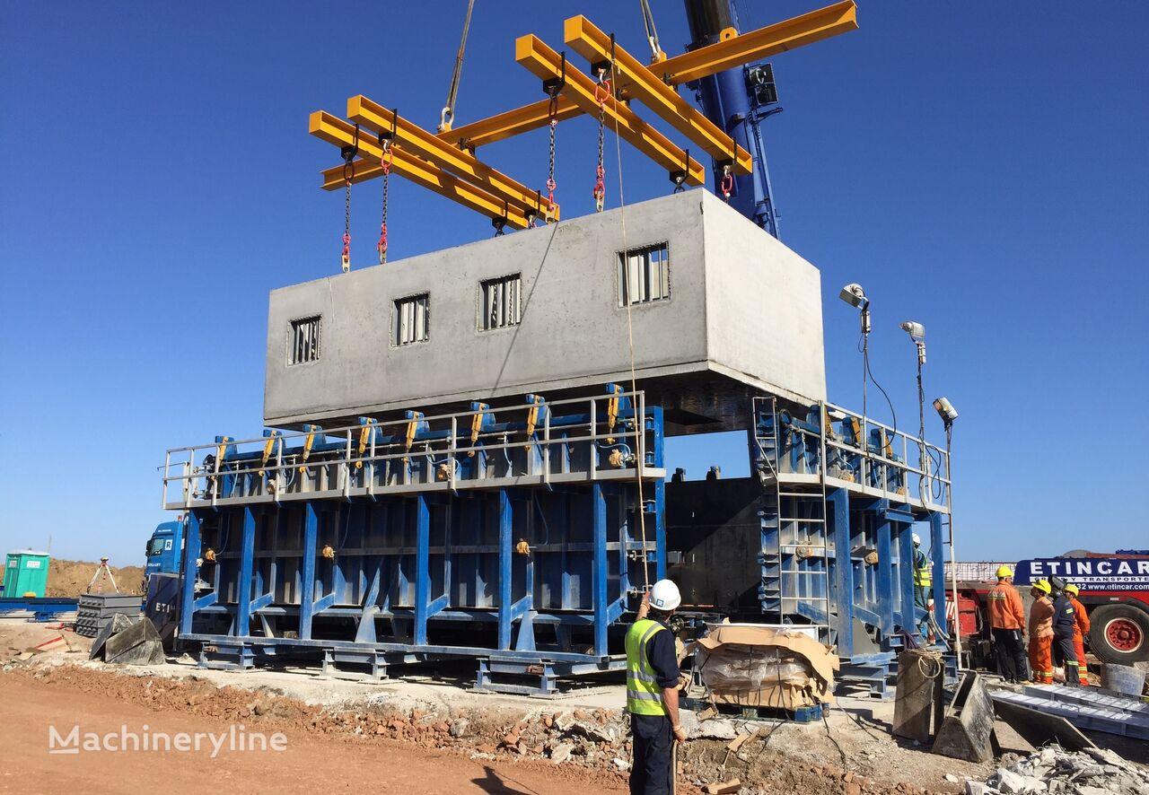 ny SUMAB Vibrating tables for the production of concrete panels betongblock maskin