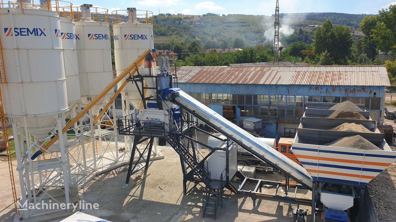 ny SEMIX 120-135 Y MOBILNE BETONARNE 120-135m³/h betongfabrik