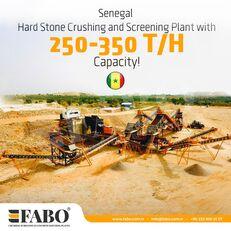 ny FABO STATIONARY CRUSHING & SCREENING PLANT 250-350 TPH krossanläggning