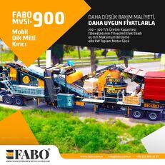 ny FABO MVSI 900 MOBILE VERTICAL SHAFT IMPACT CRUSHING SCREENING PLANT mobil krossanläggning
