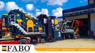 ny FABO PRO 90 MOBILE CRUSHING&SCREENING PLANT | 90-130 TPH mobil krossanläggning
