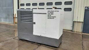 JOHN DEERE LSA 43.2S2 Silent 3 x Phase 43kva dieselgenerator